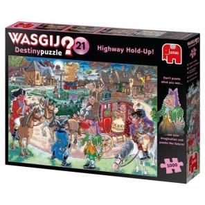 Wasgij - Highway Hold-Up! Skadad -