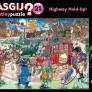 Wasgij - Highway Hold-Up! Skadad