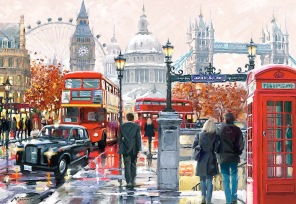Pussel - London Collage -