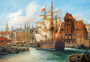 Pussel - The Old Gdansk -