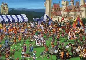 Francois Ruyer - Knights Tourmament -
