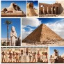 Pussel - Collage Egypten