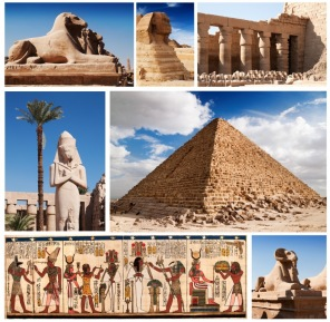 Pussel - Collage Egypten -