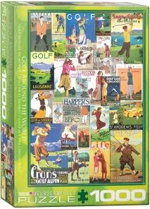 Pussel - Golf Around the World -