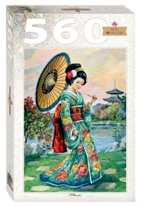 Pussel - Japanese Women -