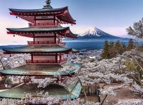 Pussel - Japansk Byggnad -