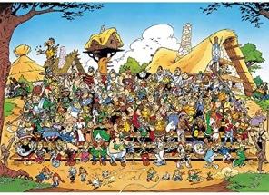 Pussel - Asterix Familjefoto -
