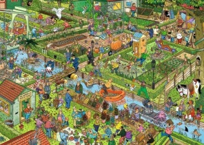 Jan van Haasteren - The Vegetable Garden -