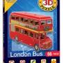 3D Pussel - London Buss
