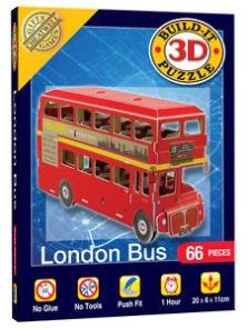 3D Pussel - London Buss -