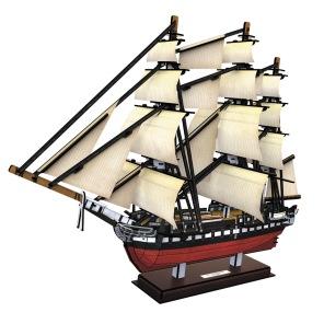 3D Pussel - USS Constitution -