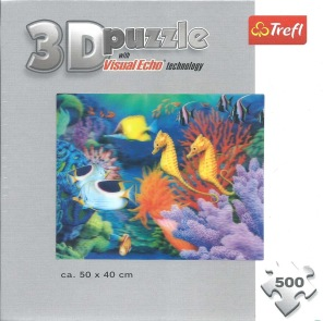 3D Pussel - Havet -