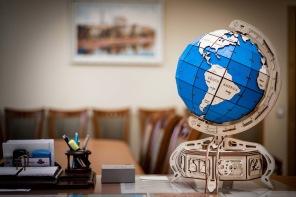 3D Träpussel - The Globe -