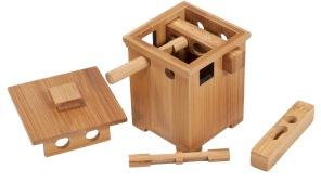 3D Trä - IQ Test Bamboo-Safe -