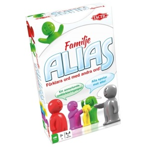 Mindre Spel - Familje Alias -