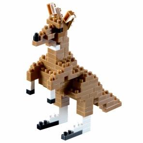 Nano Block - Känguru -