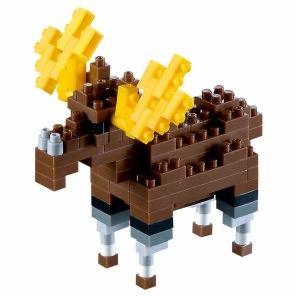 Nano Block - Älg -