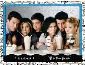Pussel - Friends Milkshake -