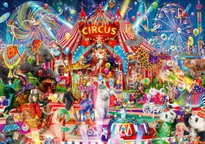 Pussel - A Night at the Circus -