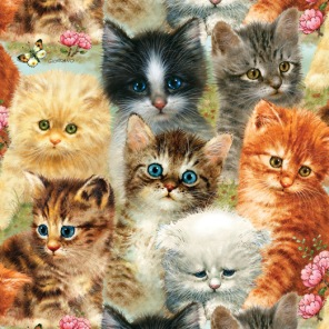 Pussel - A Pile of Kittens -