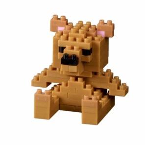 Nano Block -Teddy Bear -