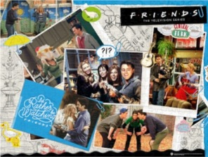 Pussel - Friends Scrapbook -
