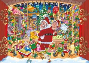 Wasgij - Santas Unexpected Delivery -