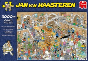 Jan van Haasteren - Gallery of Curiosities -