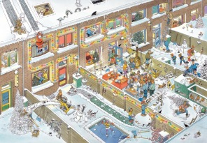 Jan van Haasteren - Christmas Eve -