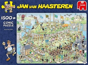 Jan van Haasteren - Highland Games -