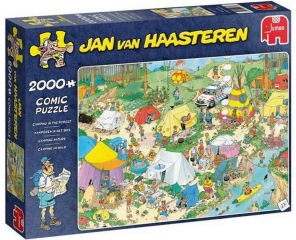 Jan van Haasteren - Camping in the Forest -