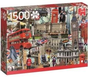 Pussel - Best of London -
