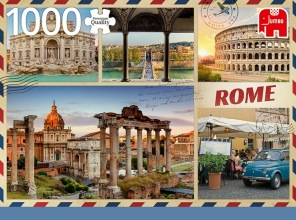 Pussel - Greetings from Rome -