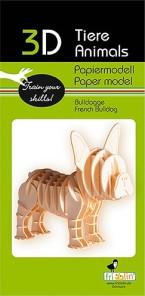 3D pussel - Bulldog -