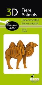 3D pussel - Kamel -