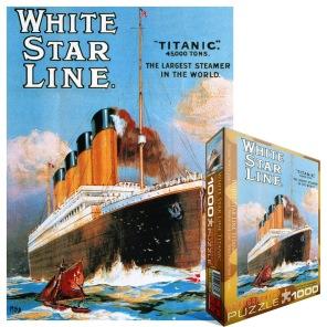 Pussel - Titanic -