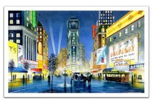 Pinto Pussel - Night in New York -