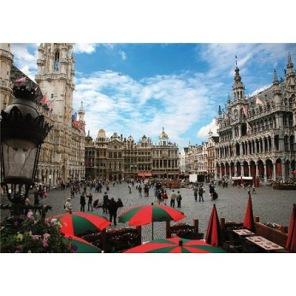 Pussel - Bryssel Begien