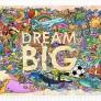 Pinto Puzzle - Dream Big