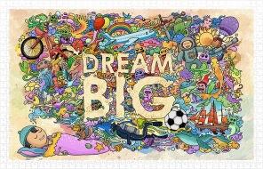 Pinto Puzzle - Dream Big -