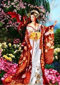Pussel - Sekkerastoya Queen of Silk -
