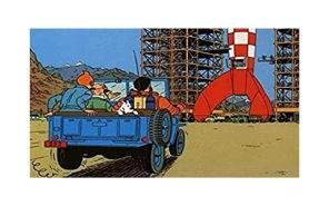 Tintin Pussel - Månen Tur och Retur -