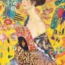 Gustav Klimt - Ask med 12 vykort