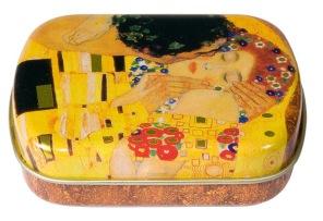 Gustav Klimt - Förvaringsask Kyssen -