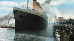 Pussel - Titanic Träpussel -