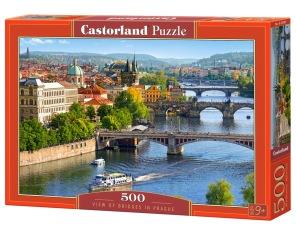 Pussel - View of Bridges in Prag -