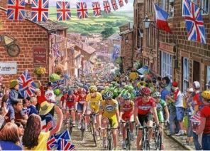 Pussel - Le Tour de Yorkshire -