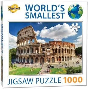 World Smallest Puzzle - Colosseum Rome -