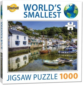 World Smallest Puzzle - Polperro Cornwall -