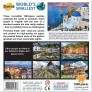 World Smallest Puzzle - Santorini Grekland